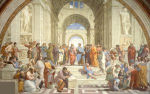 La Scuola di Atene - affresco di Raffaello Sanzio