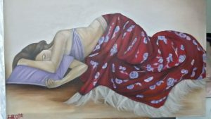 Olio su tela di Eleonora Rota