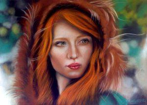 Stefania Rosatelli - Cieli d'Irlanda - Soft pastel su pastemat cm. 50x70